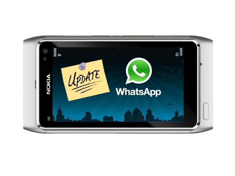 Whatsapp se actualiza para Symbian