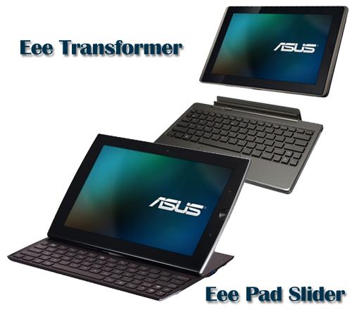 Asus presenta sus tablet bien equipadas