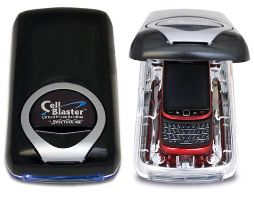 CellBlaster. Limpia de bacterias tu móvil
