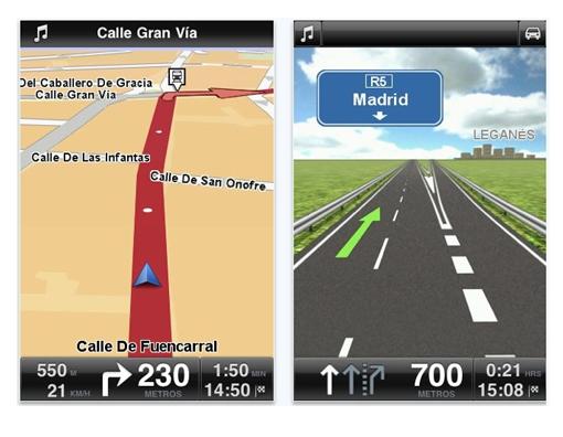 Probando Tomtom Iberia para iPhone