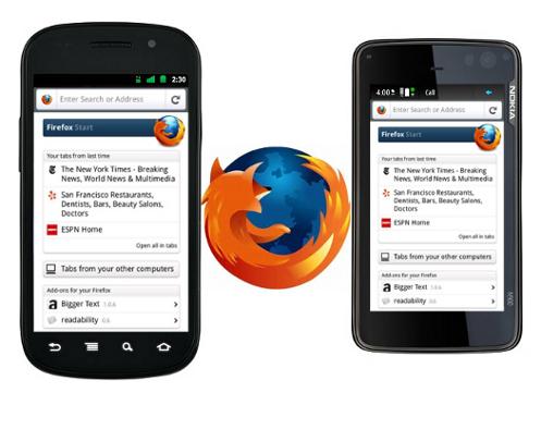 Firefox 4 llega por fin a móviles