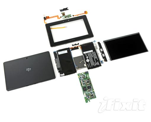 Blackberry PlayBook enseña sus entrañas