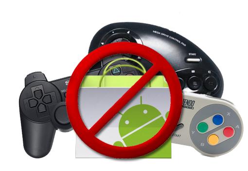 Google retira siete emuladores de la Market