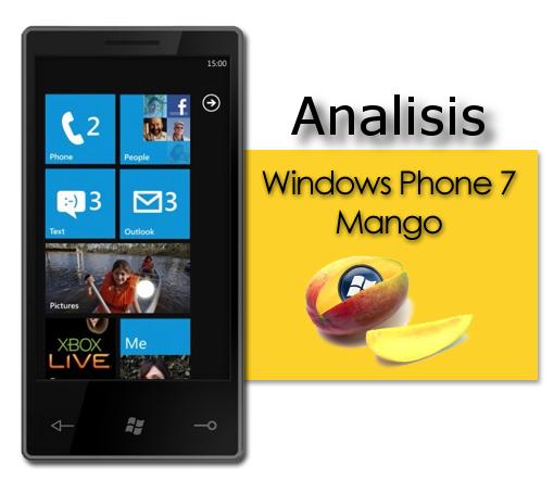 Análisis Windows Phone 7 Mango, parte 1: Comunicación.