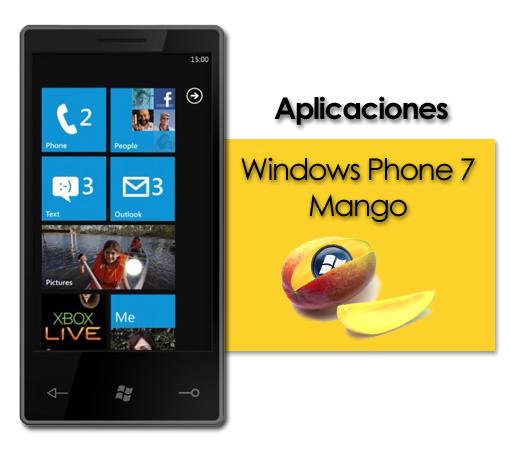 Análisis Windows Phone 7 Mango, parte 2: Aplicaciones