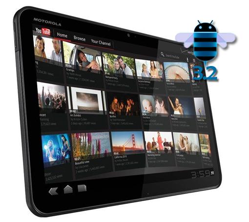 En Estados Unidos, la Motorola Xoom se actualiza a Android 3.2