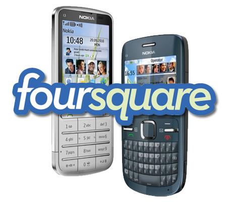 Foursquare se actualiza para Nokia S40