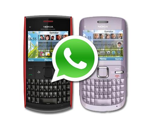 WhatsApp será compatible con terminales Nokia s40