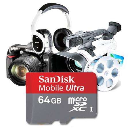 SanDisk presenta la MicroSD de 64GB Clase 6