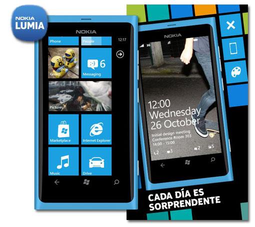 La experiencia del Nokia Lumia 800 en tu Symbian
