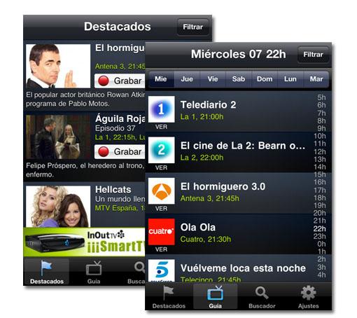 SincroGuíaTV. La programación televisiva en tu smartphone
