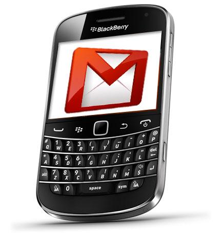 La app Gmail para Blackberry desaparece este mes