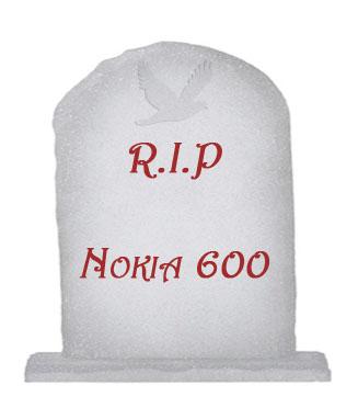 Nokia 600 desaparece misteriosamente