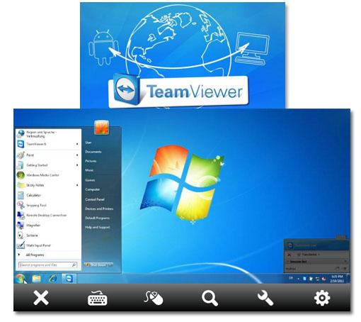 TeamViewer. Accede al ordenador desde tu Android