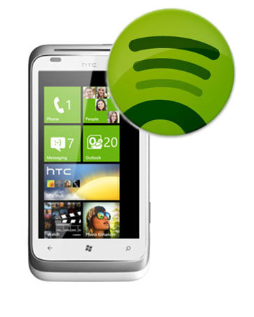 Spotify ya es oficial para Windows Phone