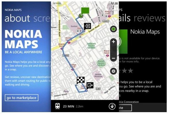 Nokia Maps para todos los Windows Phone, pero sin voz
