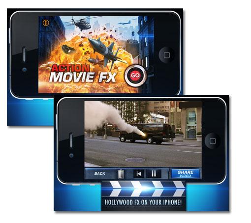 Action Movie FX. Efectos especiales en tus vídeos caseros