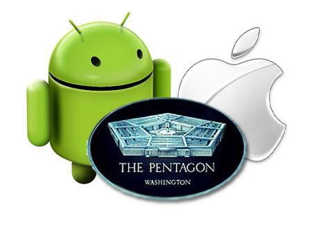El Pentágono. Luz verde para Android y roja para Apple
