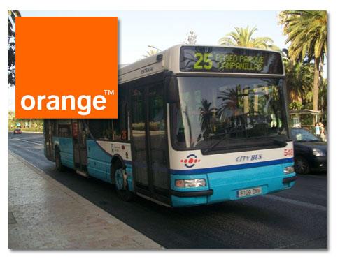 EMT Málaga y Orange lanzan el pago del autobús por NFC
