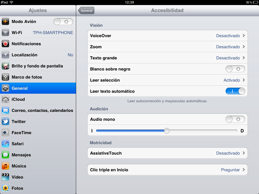 Truco. iOS te dicta el texto seleccionado en pantalla