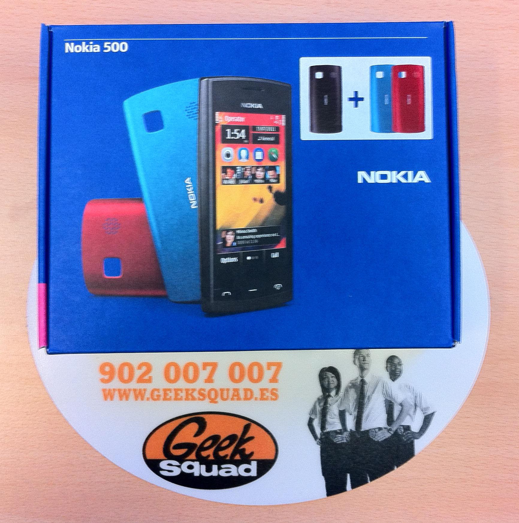 Análisis. Desempaquetamos el Nokia 500
