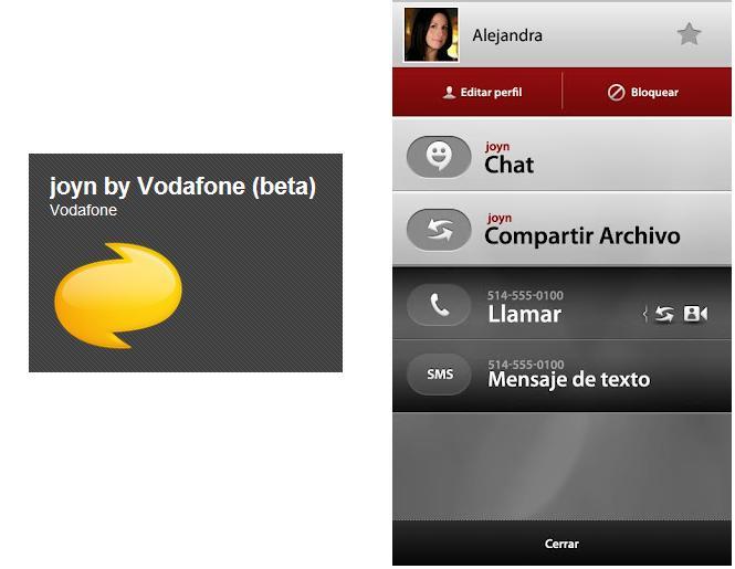 Vodafone lanza la Beta Testing del nuevo servicio Joyn