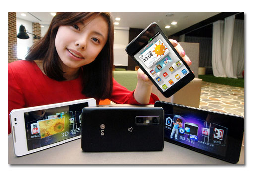 MWC 2012. LG Optimus 3D Cube aka Optimus 3D Max. Edita 3D desde el smartphone.