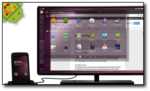 Canonical nos plantea un todo en uno gracias a nuestro smartphone y Ubuntu