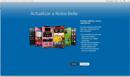 Nokia X7 se actualiza a Belle