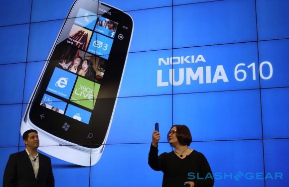 MWC 2012. Nokia Lumia 610, el económico Windows Phone
