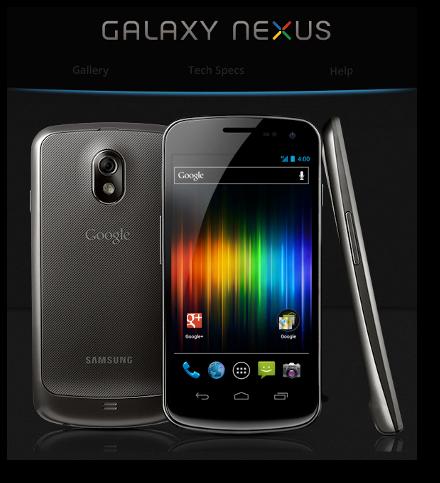 Nueva actualización de Software para el Galaxy Nexus