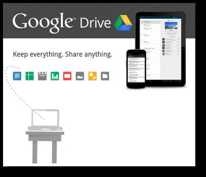 Te presentamos Drive. La nube de Google