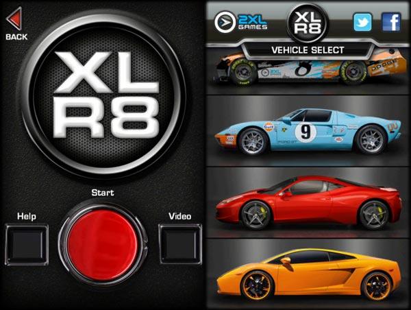 XLR8. Un deportivo en tu iOS sin cambiar de coche