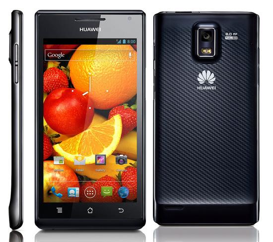 Huawei Ascend P1 en Europa