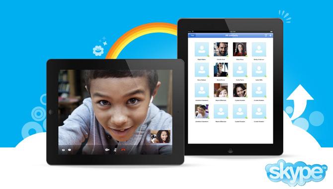 Actualización menor de Skype para iOS