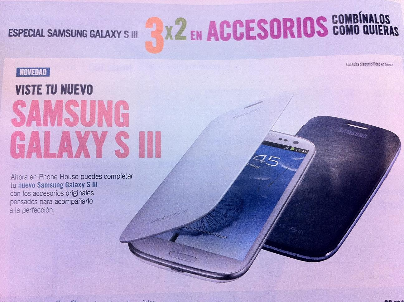 Equipa tu Galaxy S 3 con los accesorios en Phone House