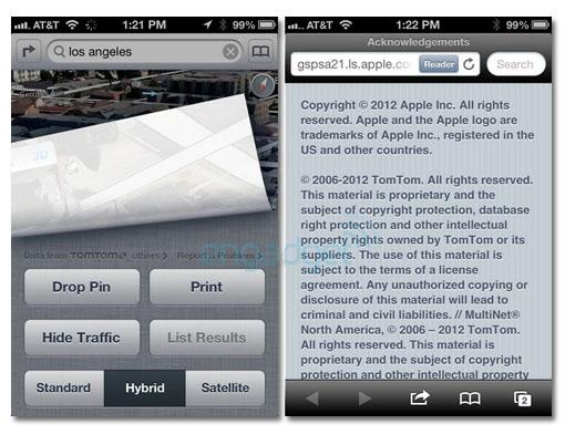 Apple se apoya en TomTom para los mapas de iOS 6