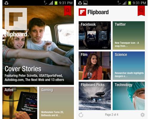 Flipboard ya tiene versión oficial en Android