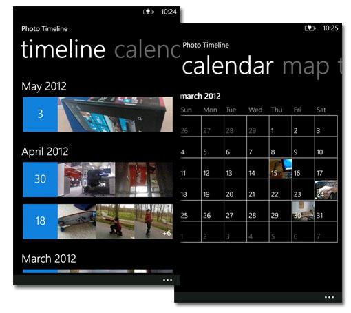 Photo Timeline. Organiza tus fotos en Windows Phone