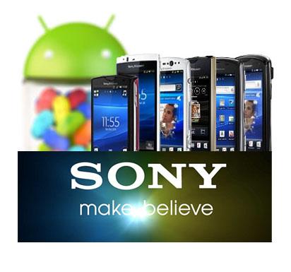 Sony todavía sopesa Jelly Bean para los antiguos Xperia