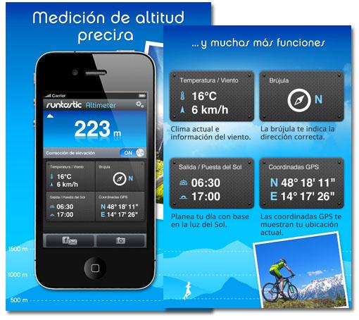 Altímetro Pro para iOS. Ahora gratis