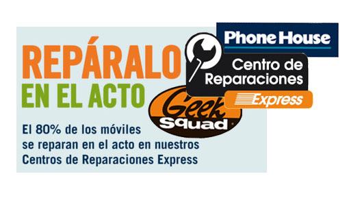 Tres formas de reparar tu terminal en Phone House