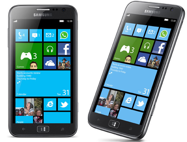 IFA 2012. Samsung ATIV S, primer smartphone Windows Phone 8