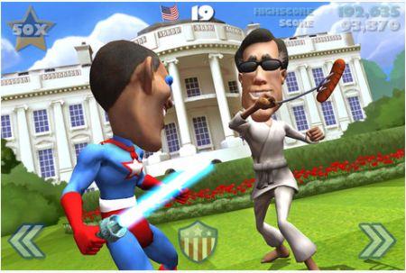 Vote!!! El nuevo juego de las elecciones estadounidenses