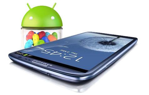 Samsung Galaxy S3 empieza a recibir Jelly Bean