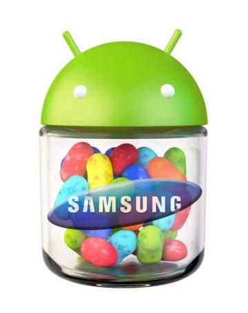 Samsung detalla que dispositivos se actualizarán a Jelly Bean