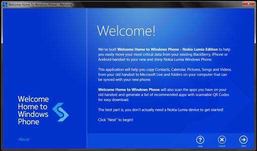 Welcome Home to Windows Phone. Es fácil pasarte a Lumia
