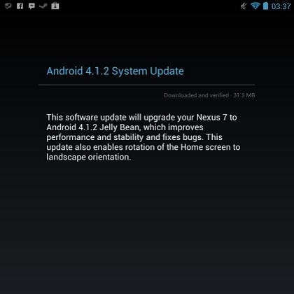 Android 4.1.2 llega a los Nexus y a la Motorola Xoom Wifi