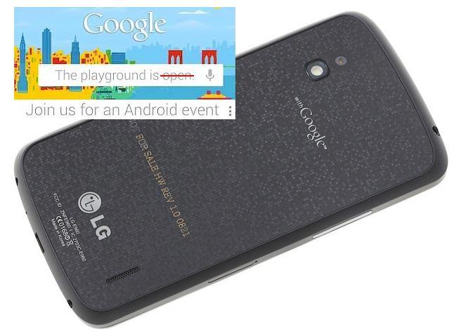Google cancela su evento, pero tenemos la guía del LG Nexus 4