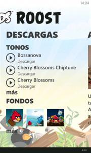 Angry Birds Roost en exclusiva para Nokia Lumia